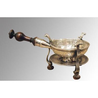 Plated Portable Stove, 18th Century