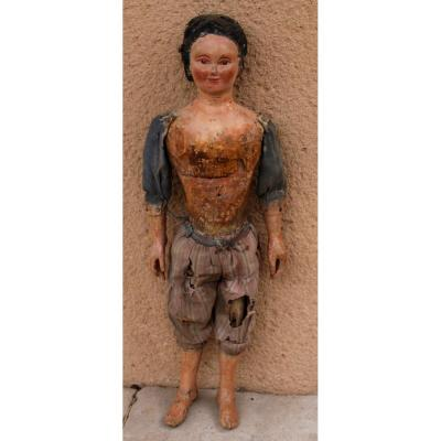 An 18th Century Wooden Marionette