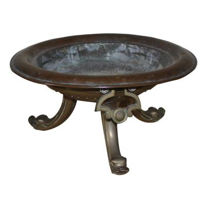 A Bronze Brass And Brass