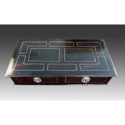 Ebony Veneer And Ivory Box Set