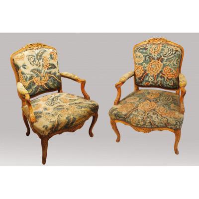 Pair Of Regency Armchairs