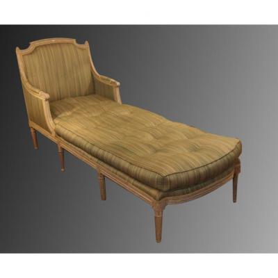 banquette ancienne canap ancien sur proantic louis xvi directoire. Black Bedroom Furniture Sets. Home Design Ideas