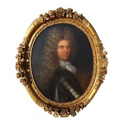 Huile Ur Toile Portrait De Gentilhomme