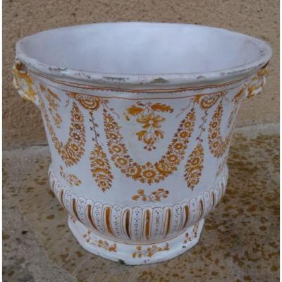 An 18th Century Moustiers Cooler