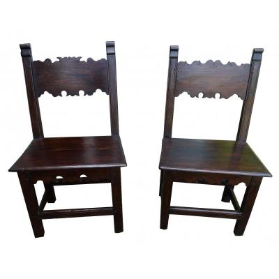 A Pair Of 17th Chair