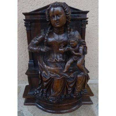 Virgin And Child In Majesty, XVIth Time