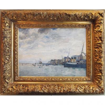 R Seaside , Impressionist Style