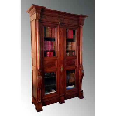 Library Walnut Empire Era