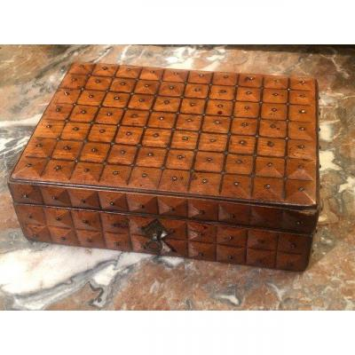 A 19th Century Wood And Metal Box