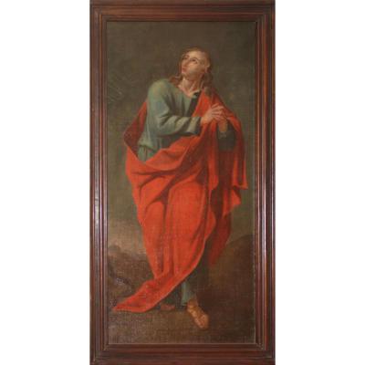 Saint In Red Coat, Seventeenth Century