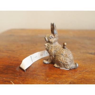 Vienna Bronze Rabbit Late 19th