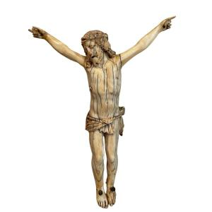 Christ In Ivory From The End Of The 17th Early 18th