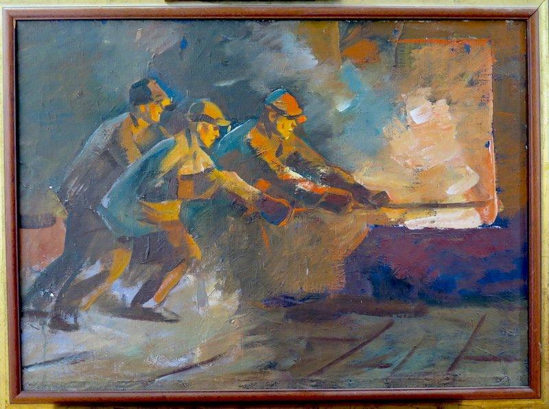Russian School: Boilermakers, 1954