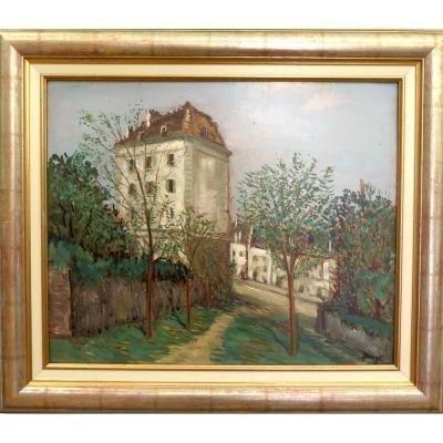 QUIZET Alphonse : Montmartre Paris