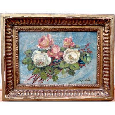 Pierre LAPRADE (1875 - 1931) - Bouquet de fleurs