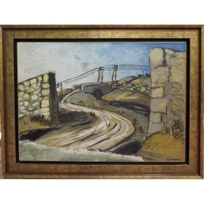 Chabaud   Auguste : Pont Et Mas De  Gratte Semelle