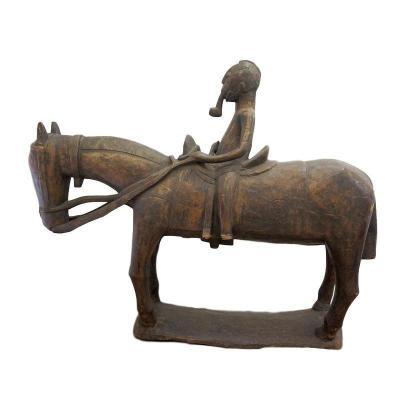 West African Wooden Horseman