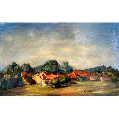 Louise Marie Landes (1928 - 2015) - Paysage