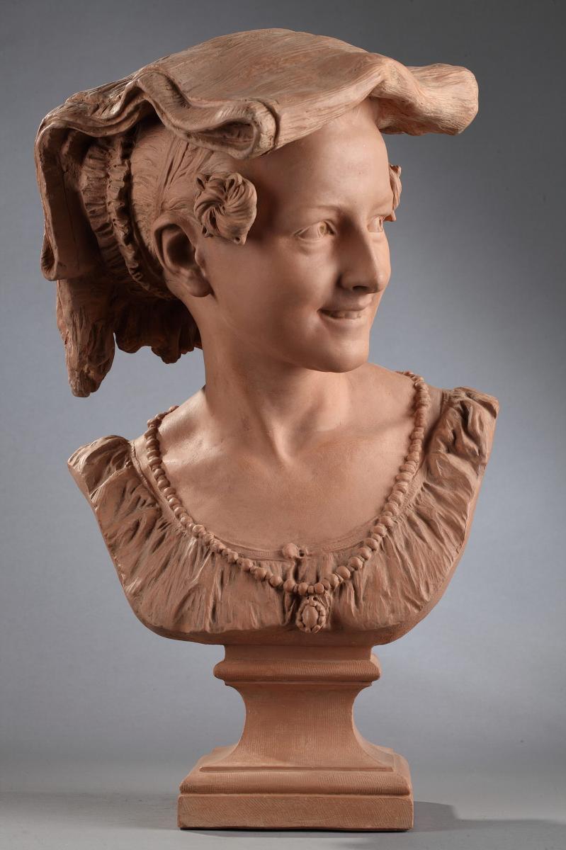 Rieuse Napolitaine - Jean-Baptiste CARPEAUX (1827-1875)