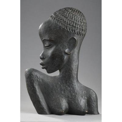 African Woman Profile - Karl Hagenauer (1898-1956)