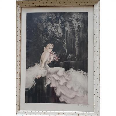Orchidées - Louis Icart (1888-1950)