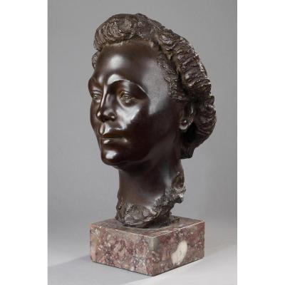 Portrait De Femme - Arno Breker (1900-1991)