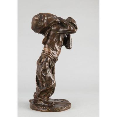 The Coal Worker - Bernhard Hoetger (1874-1949)