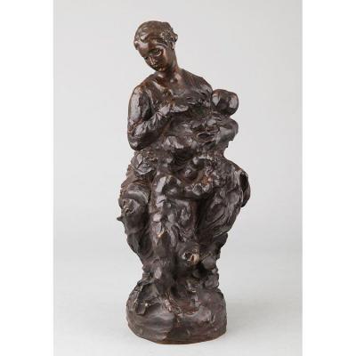 La Charité, ou Maternité - Aimé-jules Dalou (1838-1902)