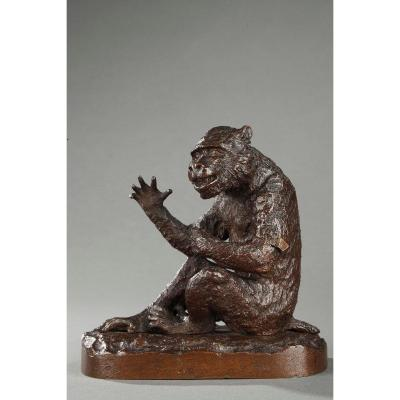 Monkey - Christophe Fratin (1801-1864)