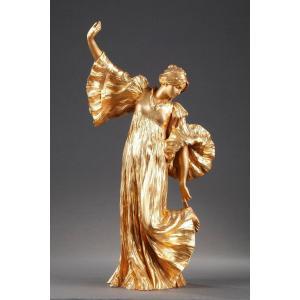 Danseuse Au Cothurne - Agathon Leonard (1841-1923)