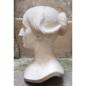 Buste De Dame - Pierre Robert (xixe)