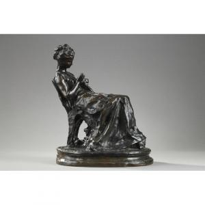 La Brodeuse - Aimé-Jules Dalou (1838-1902)