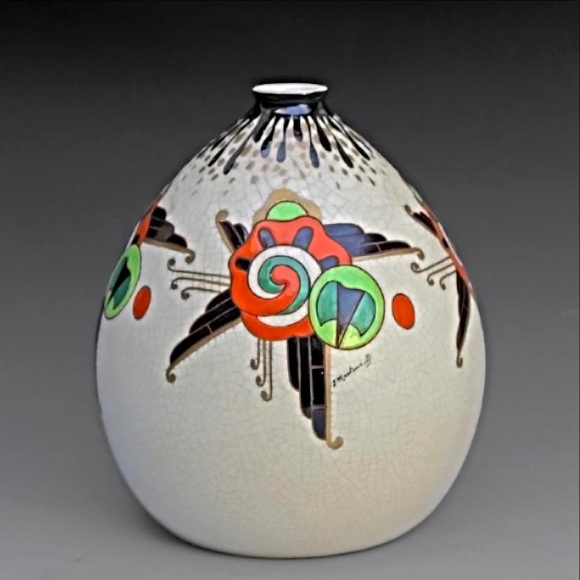 Grand Vase Art Déco 1925