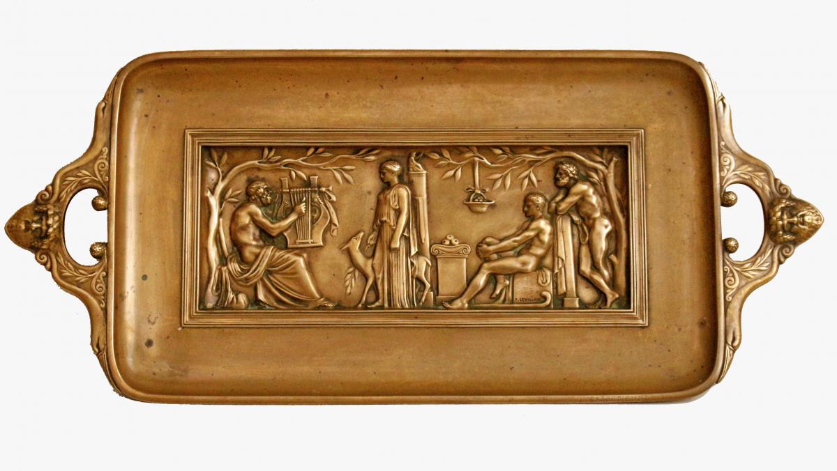 Ferdinand Levillain & Barbedienne Bronze XIXe