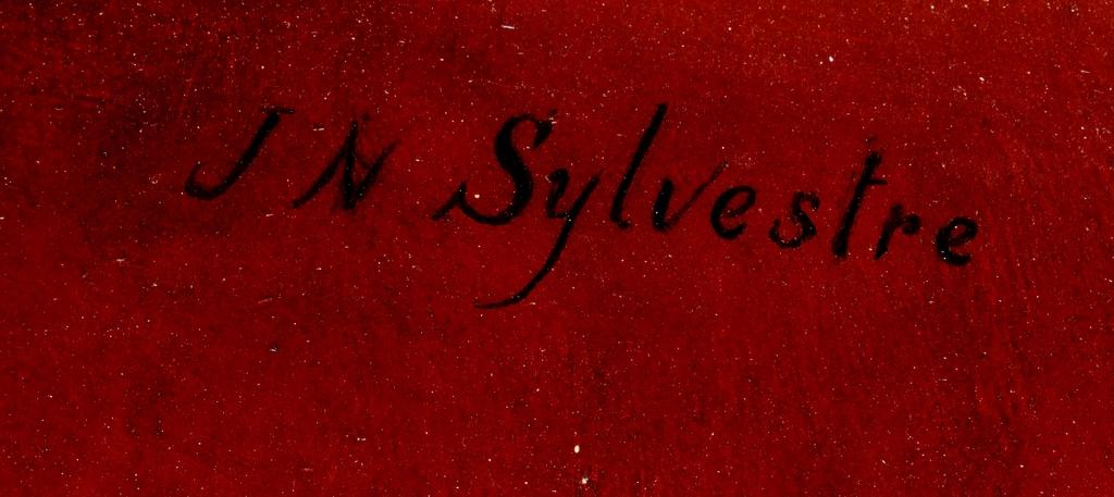 Joseph-Noel SYLVESTRE XIXe portrait de Mme A...-photo-1