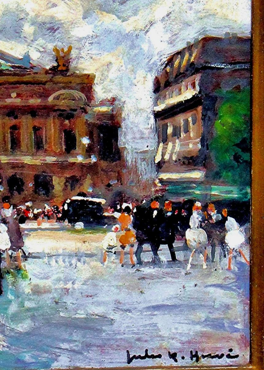 Jules R. Herve (1887-1981) Paris Opera Square-photo-1