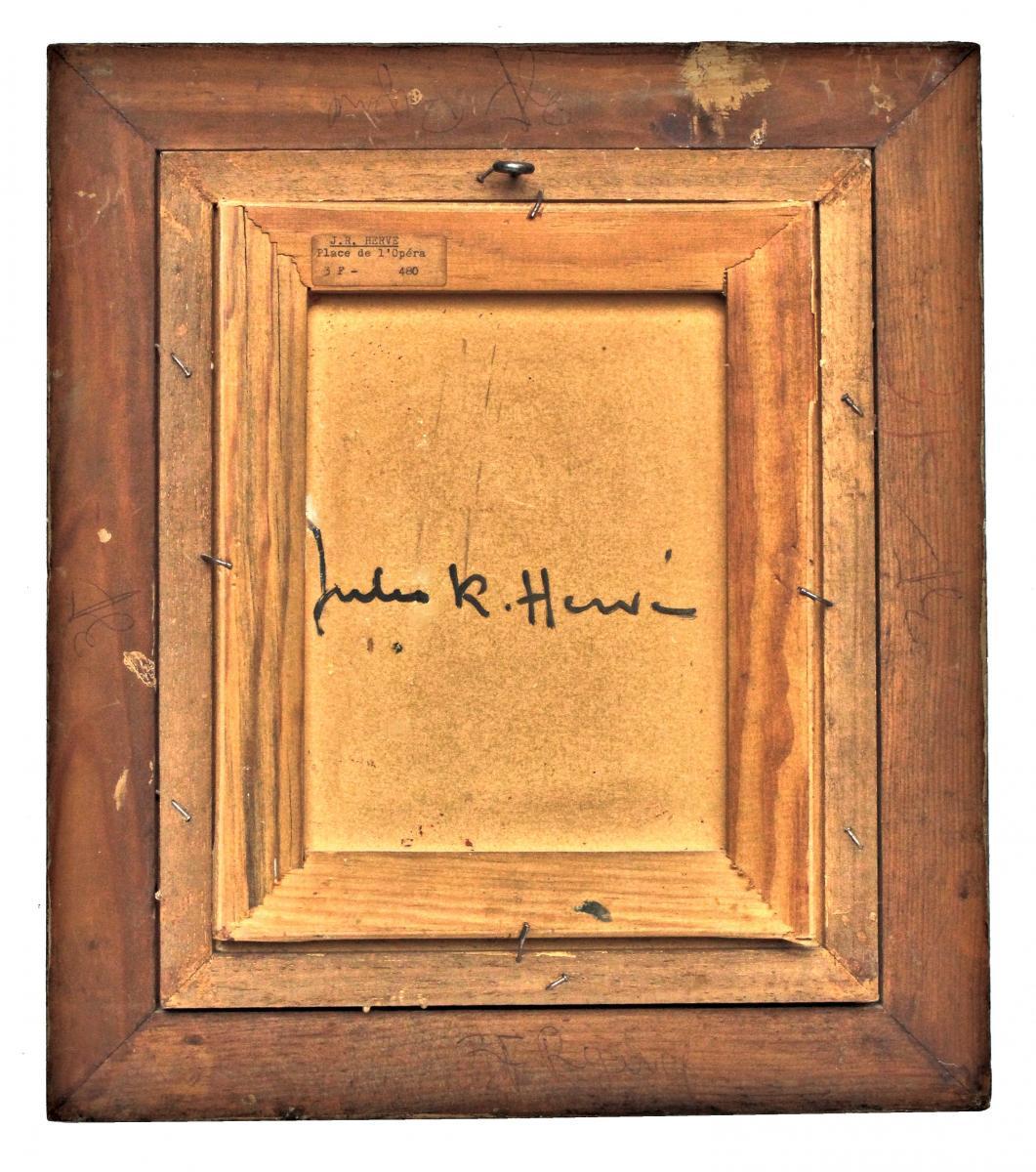 Jules R. Herve (1887-1981) Paris Opera Square-photo-2