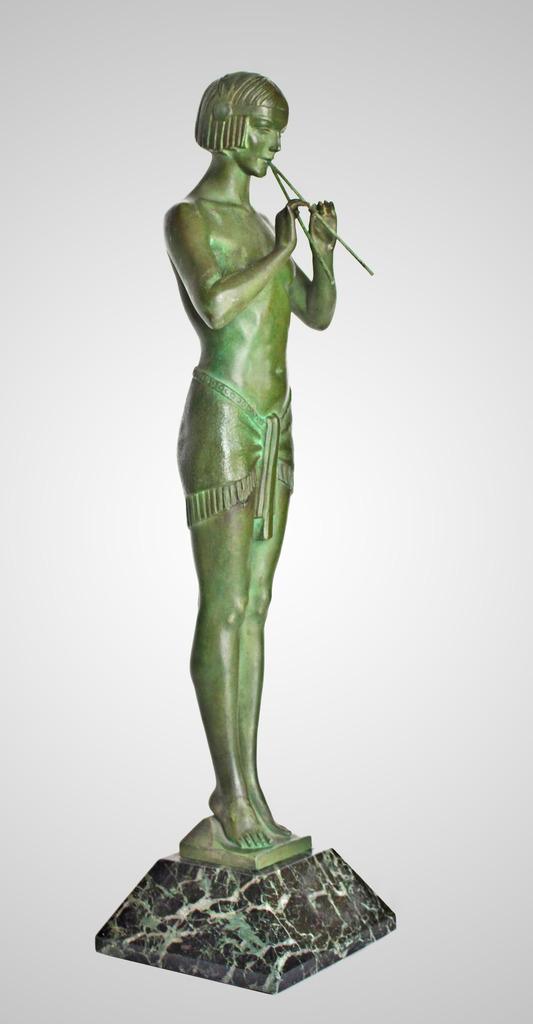 Max Le Verrier Grande Sculpture Art Déco