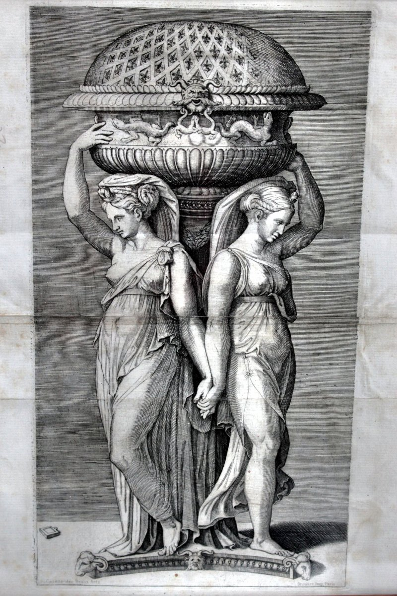 Nineteenth Engraving After Marcantonio Raimondi-photo-2
