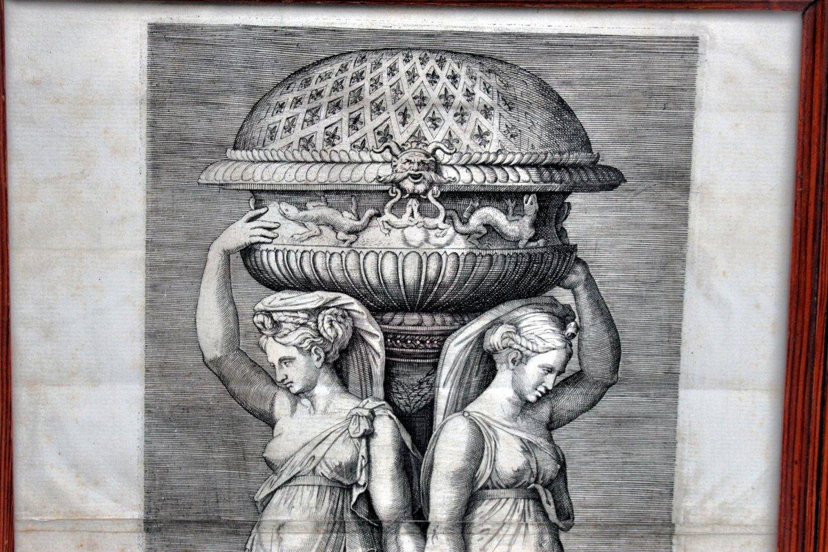 Nineteenth Engraving After Marcantonio Raimondi-photo-3
