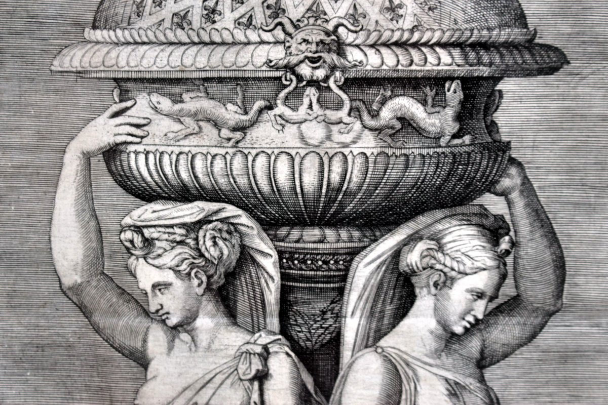 Nineteenth Engraving After Marcantonio Raimondi-photo-4
