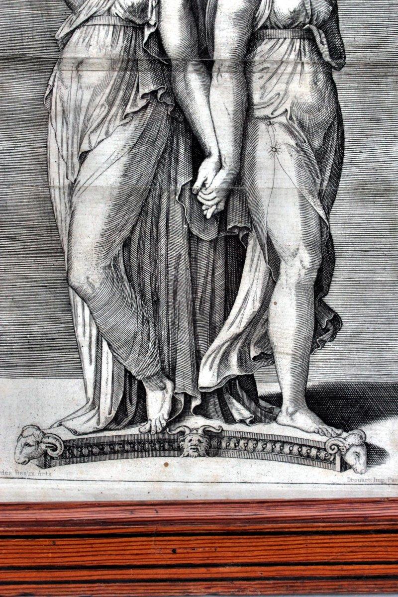 Nineteenth Engraving After Marcantonio Raimondi-photo-1