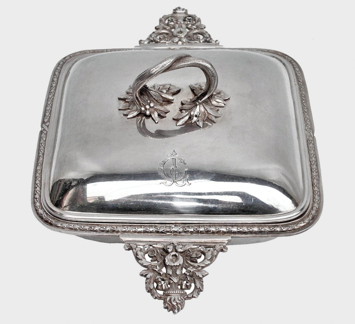 Vegetable In Sterling Silver Goldsmith Fray Harleux Paris