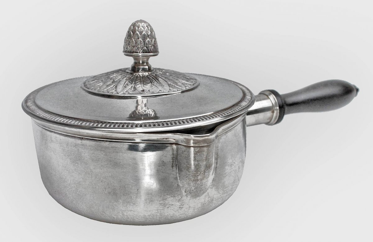 Large Skillet In Sterling Silver