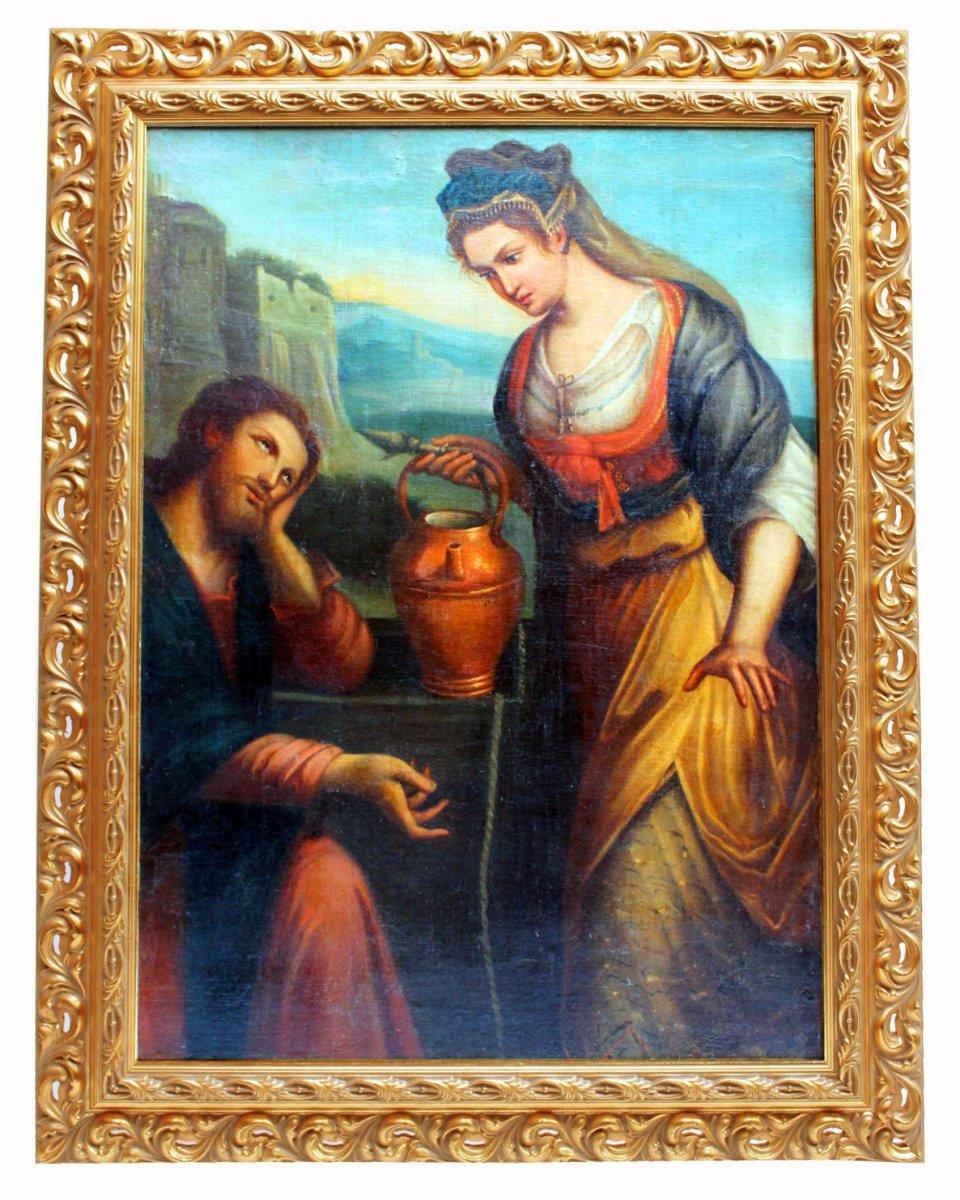 Large Italian School Table XVII Follower Of Lavinia Fontana