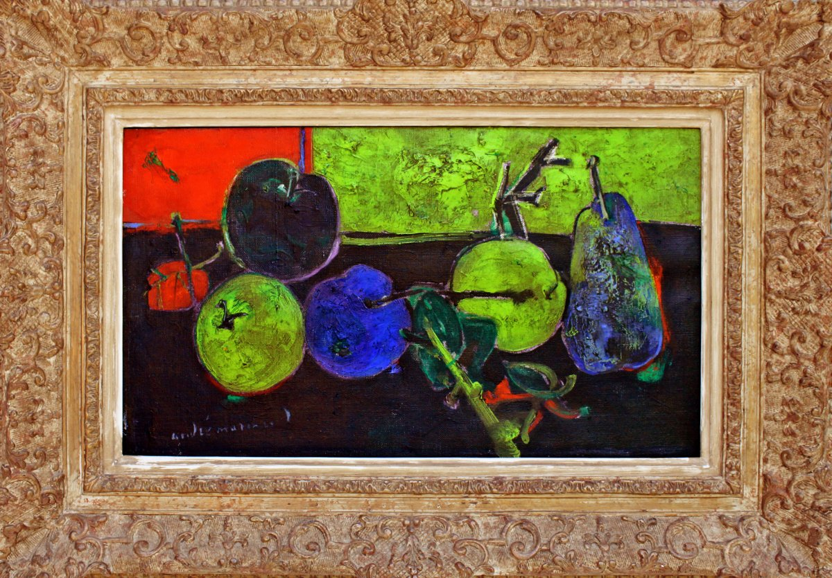 André Marchand (1907-1997) The Apples And The Pear