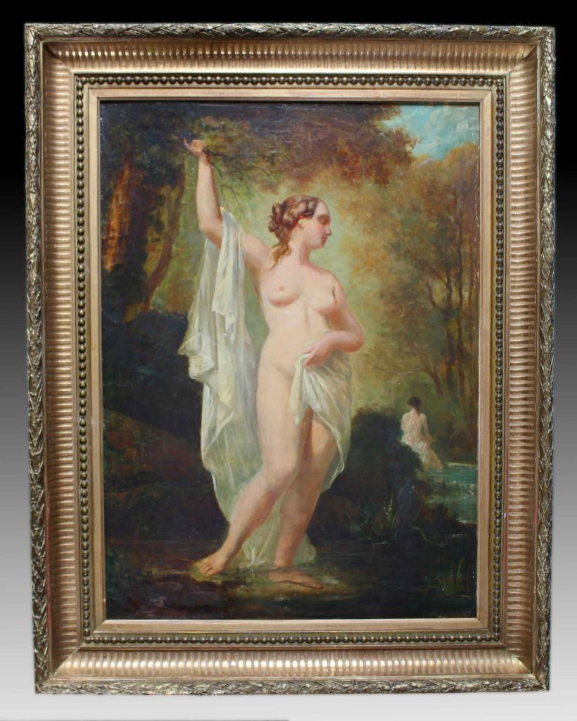 Alexandre Marie LONGUET peinture début XIXe