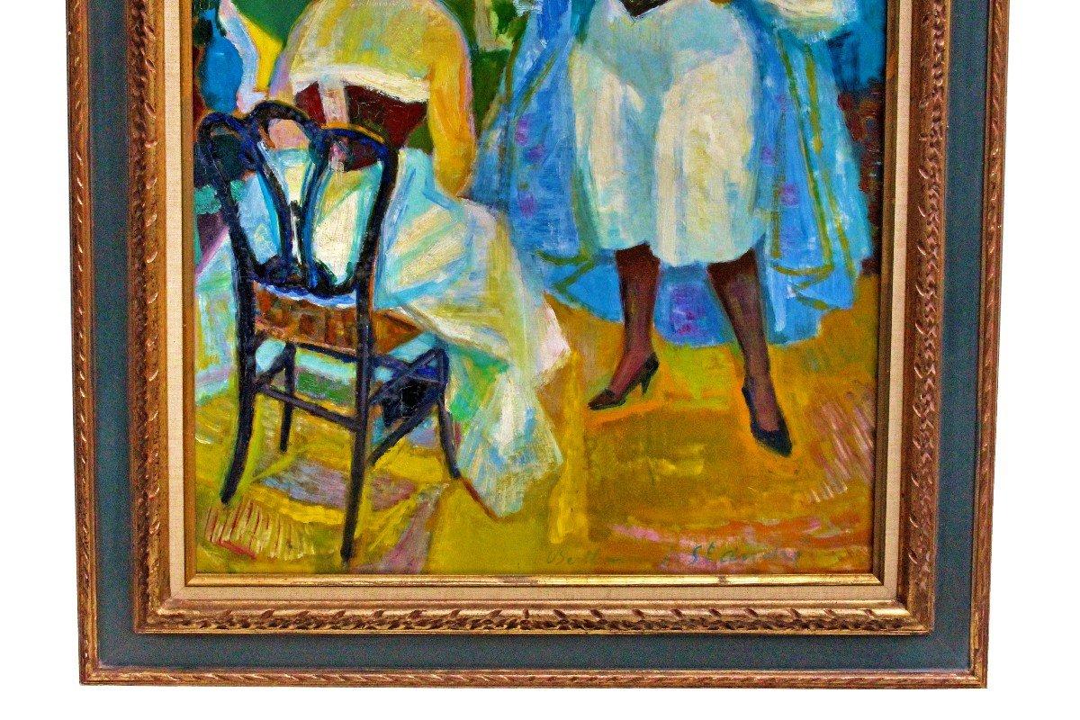 Louis BerthommÉ-saint-andrÉ (1905-1977) Women In Corselet-photo-3