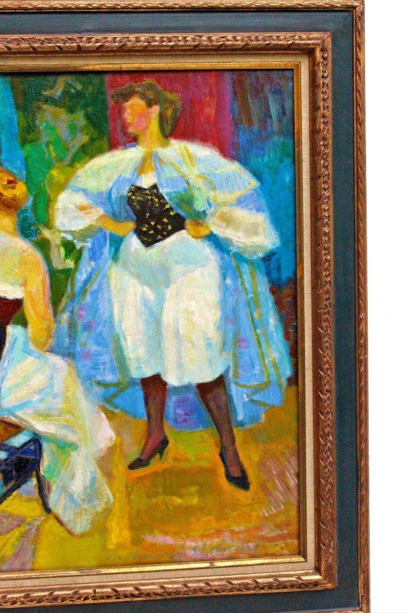 Louis BerthommÉ-saint-andrÉ (1905-1977) Women In Corselet-photo-4