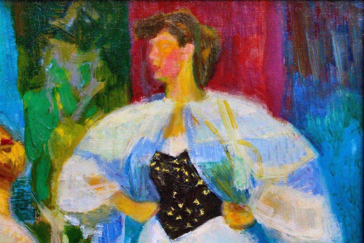 Louis BerthommÉ-saint-andrÉ (1905-1977) Women In Corselet-photo-5